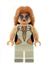 Dazzler (Associated with the X-Men) - Custom Designed Minifigure